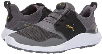 Puma Ignite NXT Disc (Black/Silver/White) Men's Golf Shoes