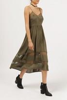 Azalea Strappy Laced Front Dress