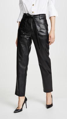 Alexis Castile Faux Leather Pants