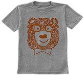 Urban Smalls Heather Gray Hipster Bear Tee - Toddler & Kids