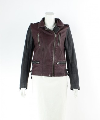 IRO Brown Leather Jackets