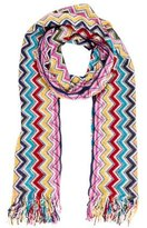 Missoni Chevron Fringe Scarf w/ Tags