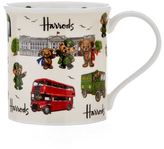 Harrods Green Man and London Bears Mug