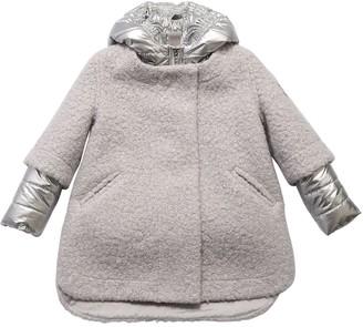 MonnaLisa Detachable Boucle Coat & Puffer Jacket