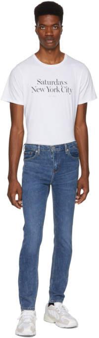 Levi's Levis Blue 510 Skinny Fit Stretch Jeans