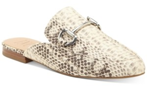INC International Concepts Inc Women's Gilia Bit Mule Loafers, Created for Macy's Women's Shoes