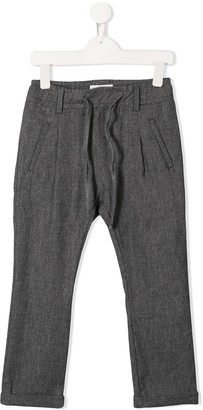 Paolo Pecora Kids drawstring waist trousers