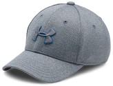 Under Armour Boys' Heathered Textured Logo Cap - Sizes XS-M