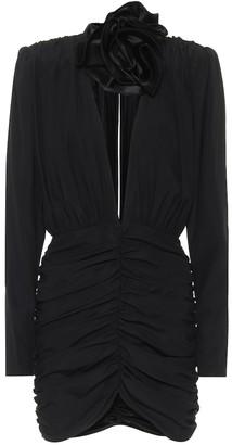 Magda Butrym Silk-blend minidress