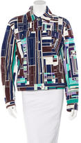 Emilio Pucci Printed Collared Jacket