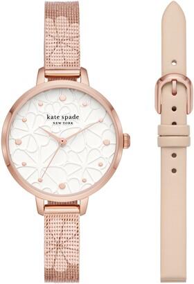 Kate Spade Metro Watch Gift Set, 34mm
