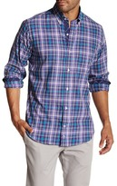 Tailorbyrd Long Sleeve Plaid Regular Fit Shirt
