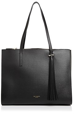 Ted Baker Narissa Tassel Detail Large Leather Tote
