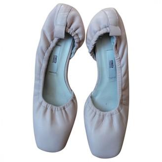 Miista Pink Leather Ballet flats