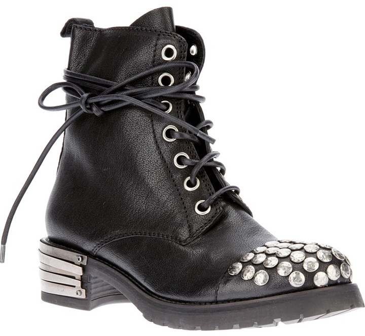 Baldan studded ankle boot