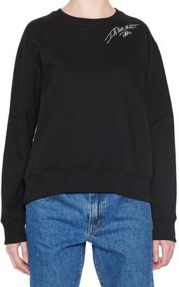 Ih Nom Uh Nit Logo Shoulder Print Sweater