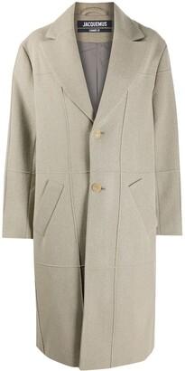 Jacquemus Carro single-breasted coat