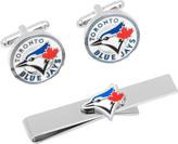 Cufflinks Inc. Men's Toronto Blue Jays Cufflinks/Money Clip Gift Set