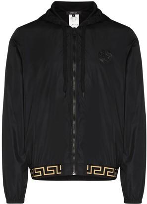 Versace Iconic hooded jacket