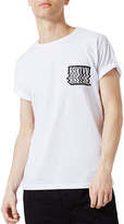 Topman Warped Brooklyn Graphic T-Shirt