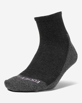 Eddie Bauer Women's COOLMAX® Trail Quarter Crew Socks