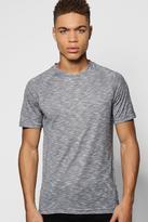 Boohoo Slub Knit Raglan T-Shirt