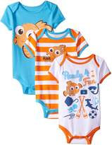 Disney Baby-Boys Finding Nemo Bodysuits