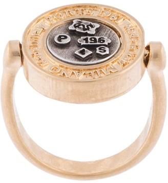 Ports 1961 Two-Tone Embossed Ring