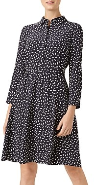 Hobbs London Emberly Printed Shirt Dress