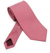 Salvatore Ferragamo Printed Gancini Tie