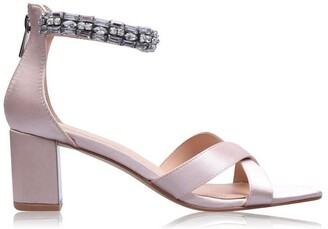 Linea Jewelled Block Heels