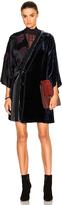 3.1 Phillip Lim Kimono Velvet Combo Dress