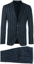 Tagliatore pinstriped dinner suit - men - Spandex/Elastane/Cupro/Virgin Wool - 54