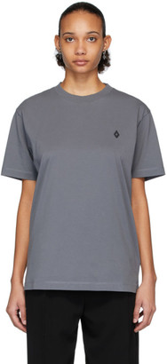 Marcelo Burlon County of Milan Grey Logo T-Shirt