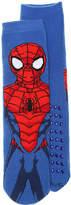 DC Comics Boys Spiderman Toddler & Youth Slipper Socks