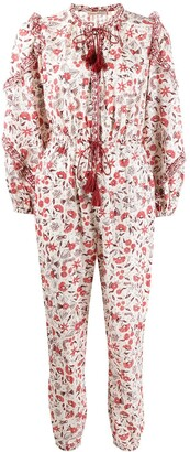 Ulla Johnson Delphine floral jumpsuit