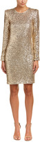 Maje Sequined Cocktail Dress