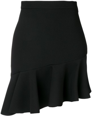 MSGM Ruffled Hem Skirt