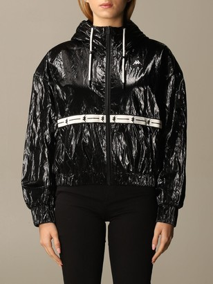 Kappa Jacket Authentic Japan Shiny Satin Cropped Hood