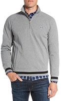 Fred Perry Men's Quarter Zip Pique Sweater