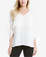 Karen Kane V-Neck Layered-Look Top