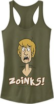 Scooby-Doo Licensed Character Juniors' Shaggy Scared Zoinks Portrait Tank