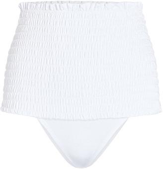 VERDELIMON Nilo Smocked Bikini Bottoms