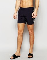 Supremacy Taped Logo Tailored Swim Shorts