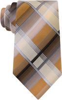 Van Heusen Shaded Plaid Silk Tie - Extra Long