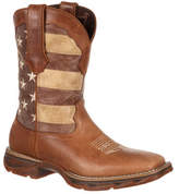 "Women's Durango Boot DRD0107 10"" Lady Rebel Faded Glory Flag Boot"