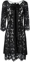 Marc Jacobs bow detail lace dress - women - Nylon/Rayon/Modal/Silk - 6