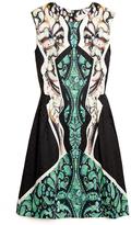 Peter Pilotto Alexa Luna-print Sleeveless Dress
