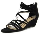 American Rag Mirah Women Open Toe Synthetic Black Wedge Sandal.