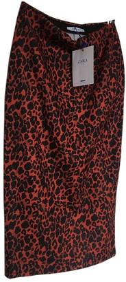N. Zara \N Red Polyester Skirts